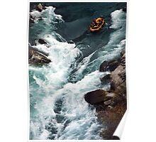 kawarau river. queenstown, aotearoa Poster