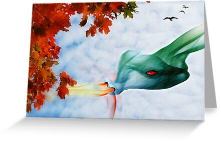 The Dragon Artist by Johanne Brunet