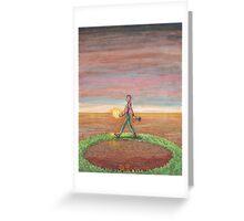 09 - Hermit Greeting Card
