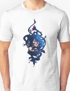 Blue Medusa Unisex T-Shirt
