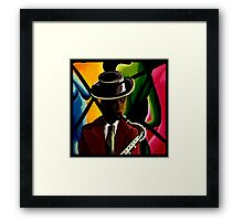 Player With Candy Dancers Framed Print