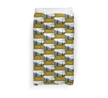 Life On The Mountain Duvet Cover