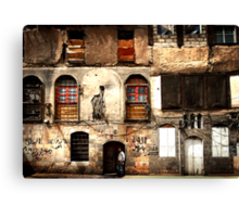 Homes in Damascus 0101 Canvas Print