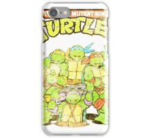 Retro Ninja Turtles iPhone Case/Skin