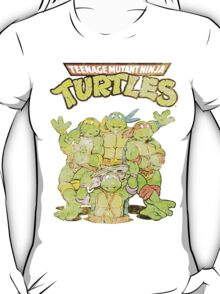 Retro Ninja Turtles T-Shirt