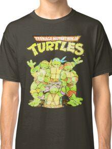 Retro Ninja Turtles Classic T-Shirt