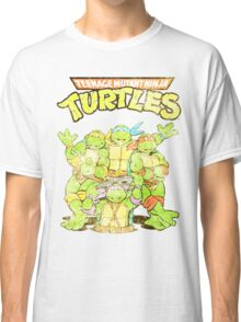 Retro Ninja Turtles Classic T-Shirt