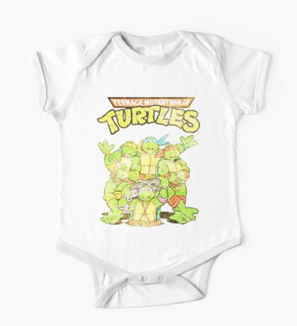 Retro Ninja Turtles One Piece - Short Sleeve