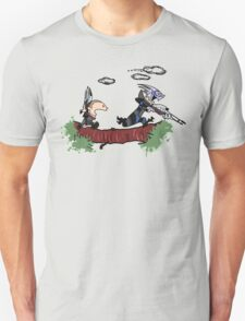 Mass Effect Calvin Hobbes T-Shirt