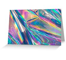 holographic Greeting Card
