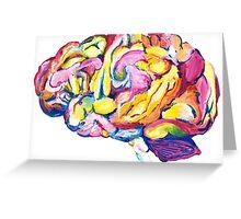 The Brain Greeting Card