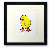 Chicks wear pink Framed Print