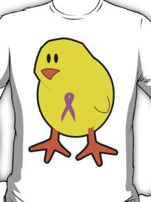 Chicks wear pink T-Shirt