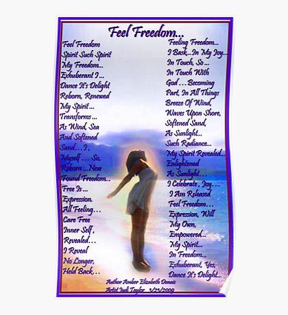 Feel Freedom... Poster