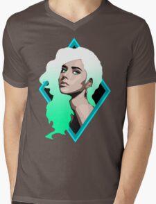 The Pretty Portrait Mens V-Neck T-Shirt