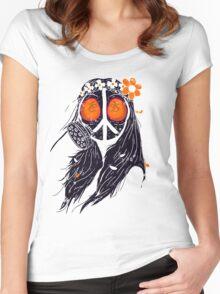 WAR & PEACE 2015 Women's Fitted Scoop T-Shirt