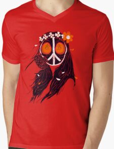 WAR & PEACE 2015 Mens V-Neck T-Shirt