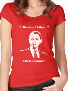 Oh Bummer Women's Fitted Scoop T-Shirt