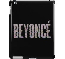 "3D ""Beyonce"" Album Cover Logo (Colorful Grid) iPad Case/Skin"