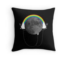 Dark Side of the Moon Parody #473827481 Throw Pillow