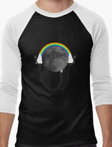 Dark Side of the Moon Parody #473827481 Men's Baseball ¾ T-Shirt