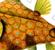 Golden fish Sticker