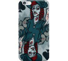 Ellen Hutter, Vampire Queen of Spades iPhone Case/Skin