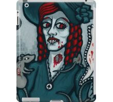 Ellen Hutter, Vampire Queen of Spades iPad Case/Skin