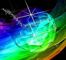 It's A Rainbow World by Marie Sharp