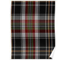 00353 Sligo County, Crest Range Fashion Tartan  Poster
