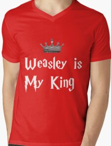 Weasley is my king Mens V-Neck T-Shirt