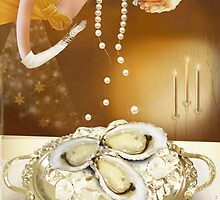 Oysters and pearls by Carolyn Ridsdale