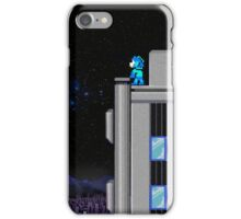 The Blue Bomber's City - Mega Man 2 iPhone Case/Skin