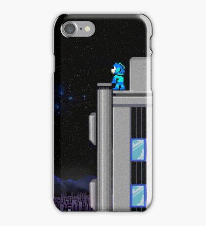 The Blue Bomber's City - Mega Man 2 iPhone Case/Skin
