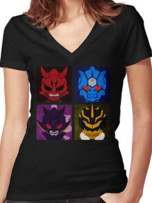 IMAGIN Women's Fitted V-Neck T-Shirt