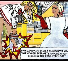 'BAD SaNdY & SudBuster GaGa' 2015 by Sandra Schnellhaus