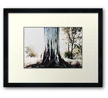 'I'm Stronger Than Ever Before' - Korumburra Botanical Gardens, Korumburra, Victoria, Australia, 2009 Framed Print