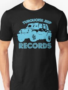 Turquoise Jeep T-Shirt