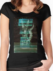 WDVMM - 0153 - Gaps in Screen Women's Fitted Scoop T-Shirt