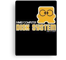 Famicom Disk Canvas Print
