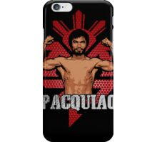 THE CHAMP- manny pacquiao iPhone Case/Skin