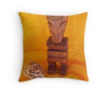 Tahitian still life... Throw Pillow