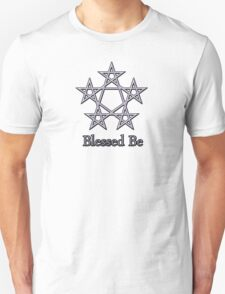 Blessed Be Pagan Wiccan Goddess Tee Stickers Unisex T-Shirt