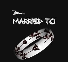 Married to DM (black) Womens Fitted T-Shirt