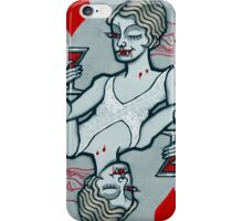 Lucy Westenra, Vampire Jack of Hearts iPhone Case/Skin