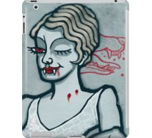 Lucy Westenra, Vampire Jack of Hearts iPad Case/Skin