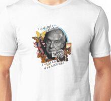 Vladimir Nabokov: Russian Dreamboat Unisex T-Shirt