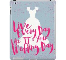 Wedding Day iPad Case/Skin