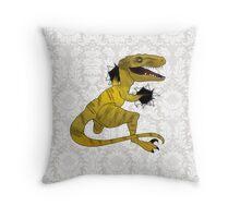 Escaped! Throw Pillow