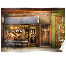 Towne Barber Shoppe Poster